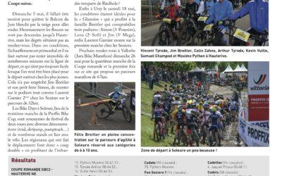 Article du Journal de Sainte-Croix